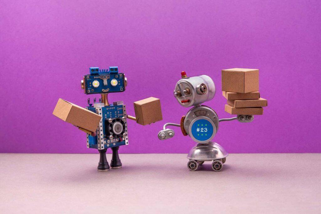 autonomous robotics delivery service