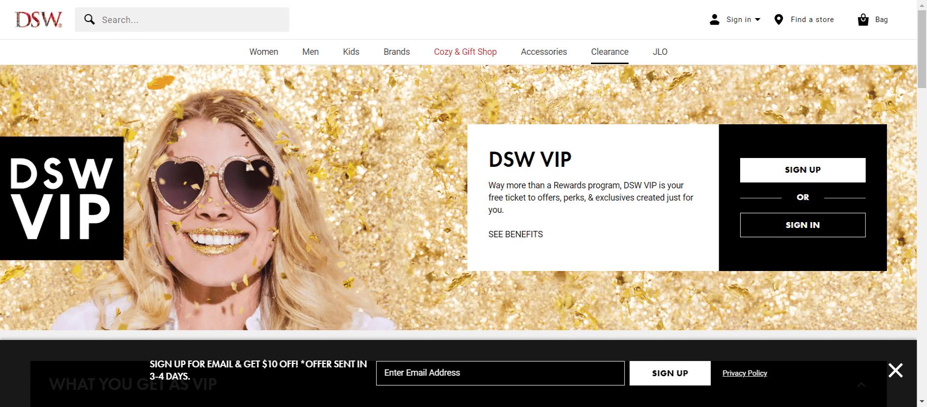 DSW Rewards
