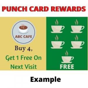 Punch Card Loyalty Program Rewards