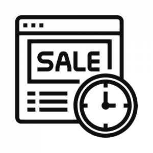 less wasted sale time
