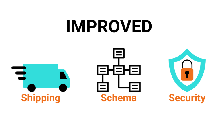 improved shipping schema security