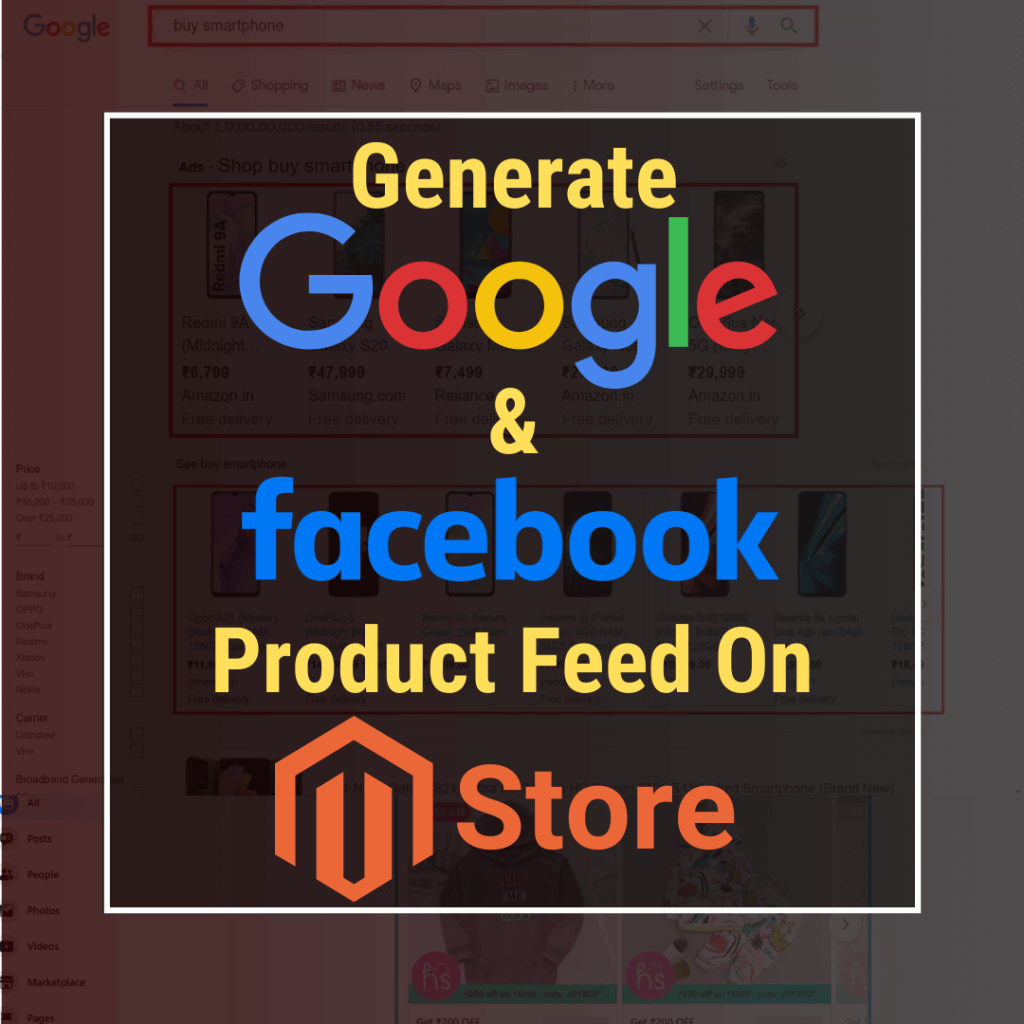 Generate Google and Facebook Product Feed on Magento Store