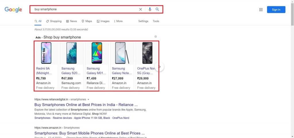Google Product Feed 1