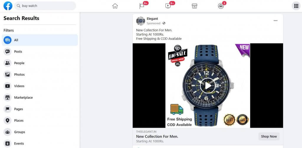 Facebook Product Feed