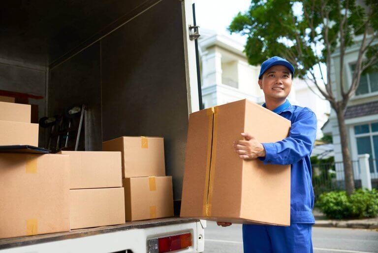 Cardboard Shipping