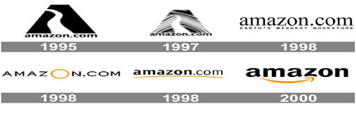Amazon logo changes