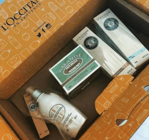 L'Occitane Package Box