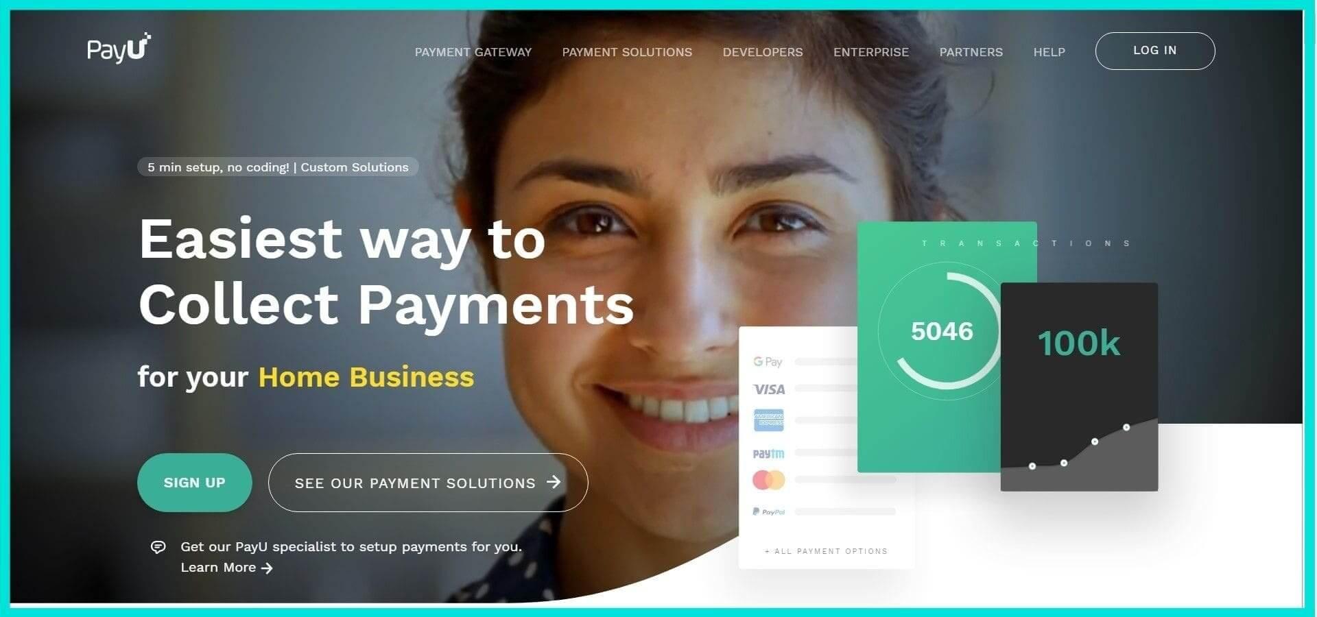 PayU Site Screenshot