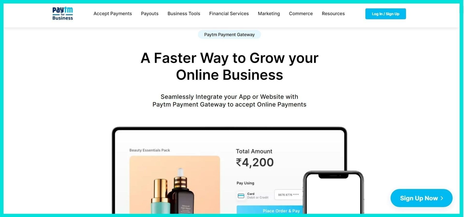 Paytm Site Screenshot